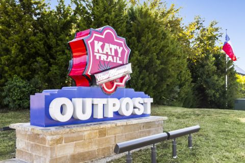 Katy Trail Outpost near Camden Legacy Park Apartments in Plano, TX