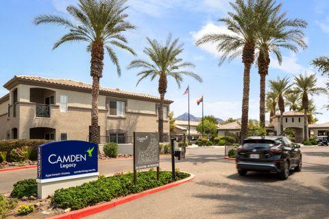 Signage at Camden Legacy Apartments in Scottsdale, AZ