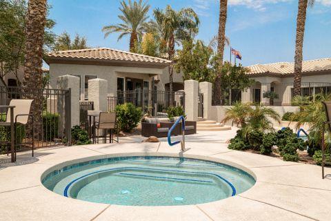 Hot Tub at Camden Legacy Apartments in Scottsdale, AZ