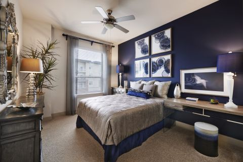 Large Bedroom at Camden Lincoln Station Apartments in Lone Tree, CO