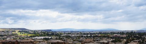 Mountain Views at Camden Lincoln Station Apartments in Lone Tree, CO