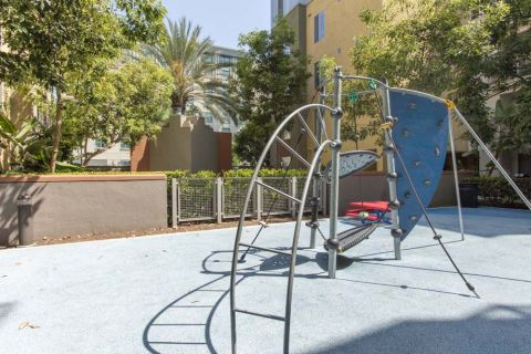 Playground at Camden Main and Jamboree Apartments in Irvine, CA