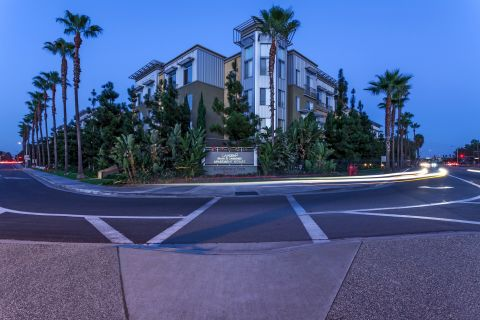 Exterior of Building at Camden Main and Jamboree Apartments in Irvine, CA