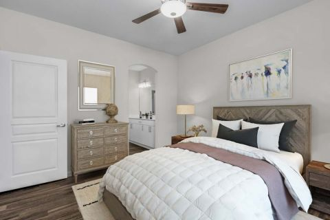 Bedroom at Camden Manor Park Apartments in Raleigh, NC