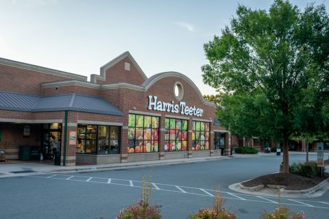 Nearby grocery store at Camden Manor Park Apartments in Raleigh, NC
