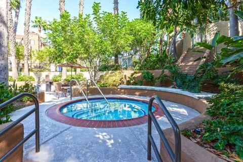 Hot Tub at Camden Martinique Apartments in Costa Mesa, CA