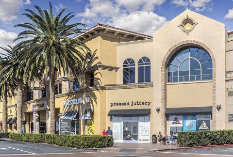 Fashion Island Shopping Center in Huntington near Beach Camden Martinique Apartments in Costa Mesa, CA