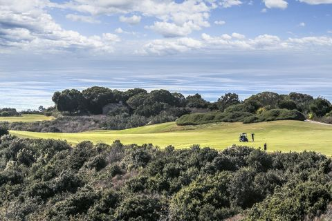 Pelican Hill Golf Club with Ocean Views near Camden Martinique Apartments in Costa Mesa, CA