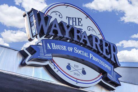 The Wayfarer Restaurant near Camden Martinique Apartments in Costa Mesa, CA