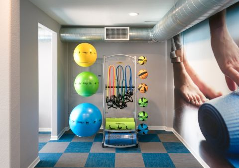 Fitness Center at Camden Martinique Apartments in Costa Mesa, CA