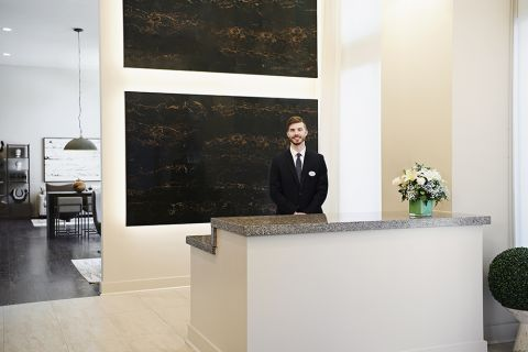 Concierge at Camden McGowen Station Apartments in Houston, TX