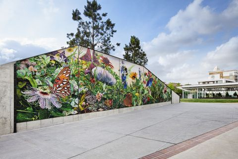 Midtown Park Mural near Camden McGowen Station Apartments in Houston, TX