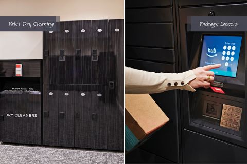 Valet Dry Cleaning and Package Lockers at Camden McGowen Station Apartments in Houston, TX