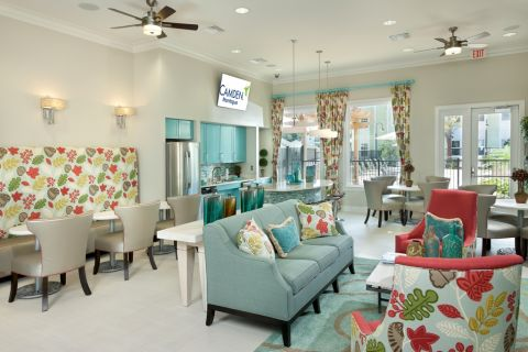 Resident Lounge at Camden Montague Apartments in Tampa, FL