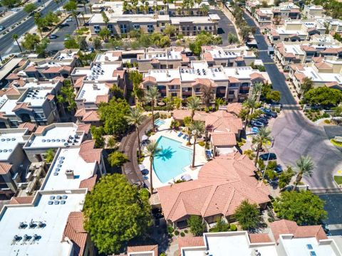 Aerial View of Camden Montierra Apartments in Scottsdale, AZ