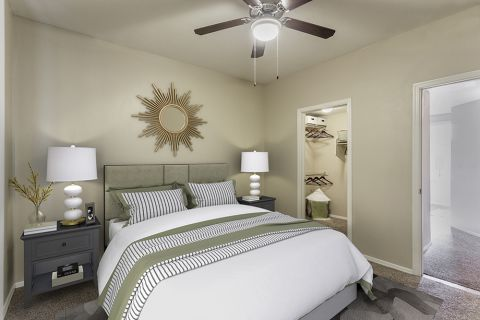 Large Bedroom with Walk-In Closet at Camden Montierra Apartments in Scottsdale, AZ