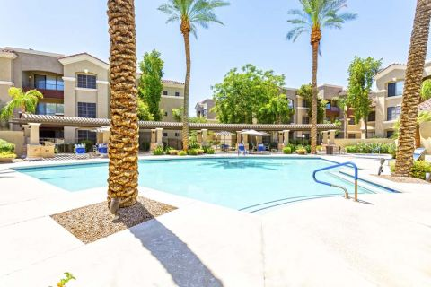 Swimming Pool at Camden Montierra Apartments in Scottsdale, AZ