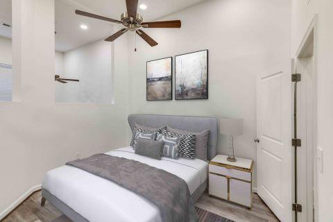 Spacious Studio at Camden Monument Place Apartments in Fairfax, VA