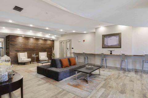 Lobby at Camden Monument Place Apartments in Fairfax, VA