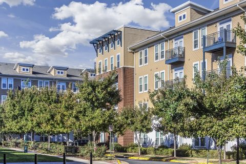 Street View at Camden Monument Place Apartments in Fairfax, VA