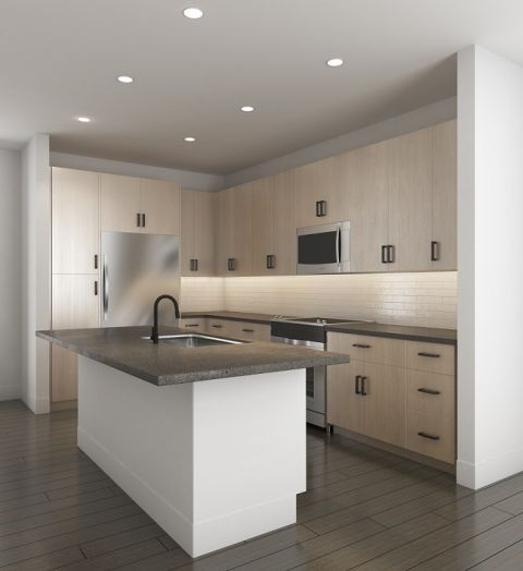 Scheme one Kitchen at Camden Noda Apartments in Charlotte, NC