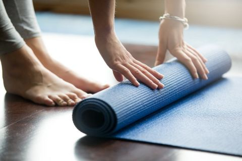 Yoga Studio at Camden Noda Apartments in Charlotte, NC