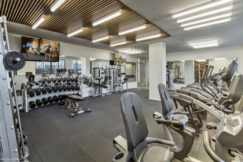Fitness Center at Camden NoMa Apartments in Washington, DC