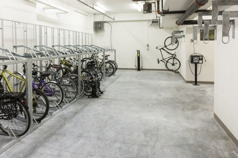 Bike Storage and Workshop at Camden NoMa Apartments in Washington, DC