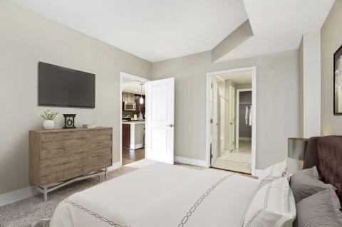 Bedroom at Camden NoMa Apartments in Washington, DC
