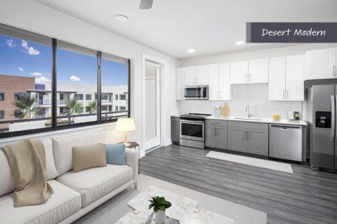 Desert Modern Studio Kitchen at Camden North End Apartments in Phoenix, AZ