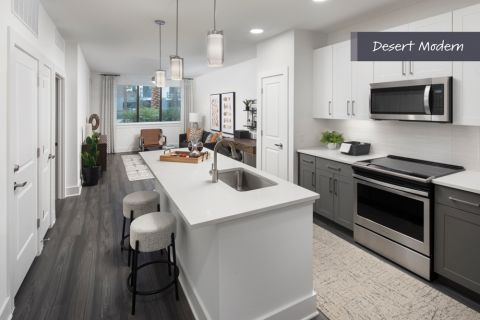 Desert Modern Kitchen at Camden North End Apartments in Phoenix, AZ