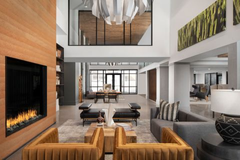 Resident Lounge at Camden North End Apartments in Phoenix, AZ