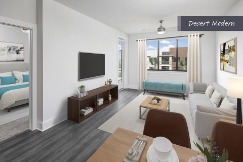 Desert Modern Open-Concept Style Living at Camden North End Apartments in Phoenix, AZ