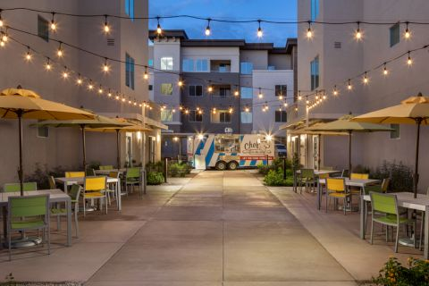 Food Truck Area at Camden North End Apartments in Phoenix, AZ