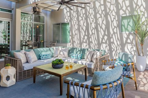 Outdoor Lounge at Camden North End Apartments in Phoenix, AZ