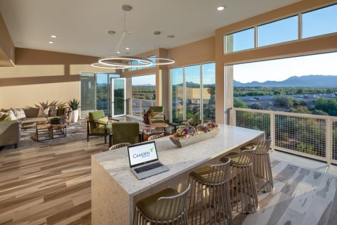 Sky Lounge with Mountain Views at Camden North End Apartments in Phoenix, AZ