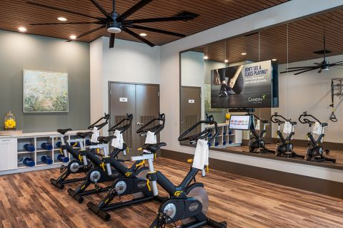 24-hour Fitness Center with Virtual Trainer at Camden North End Apartments in Phoenix, AZ