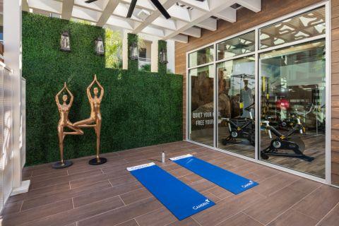 Yoga Room at Camden North End Apartments in Phoenix, AZ