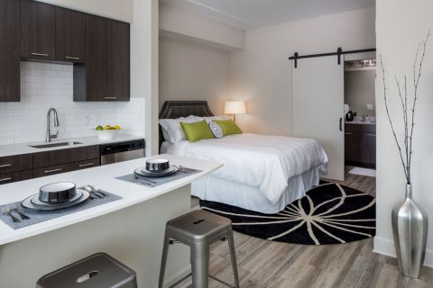 Studio Apartment at Camden North Quarter Apartments in Orlando, Florida