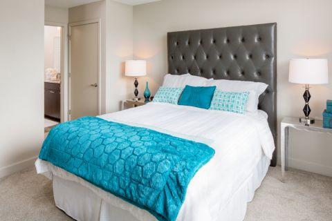 Large Bedroom at Camden North Quarter Apartments in Orlando, Florida