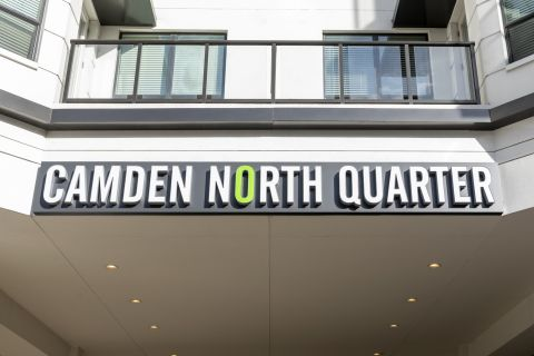 Leasing Center at Camden North Quarter Apartments in Orlando, Florida