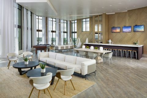 Sky Lounge at Camden North Quarter Apartments in Orlando, Florida
