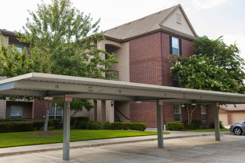 Detached Garages and Carports at Camden Oak Crest Apartments in Houston, TX