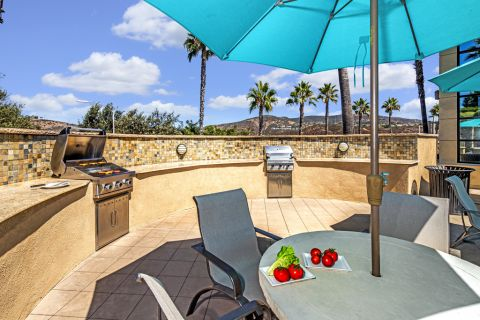 Outdoor Grills at Camden Old Creek Apartments in San Marcos, CA