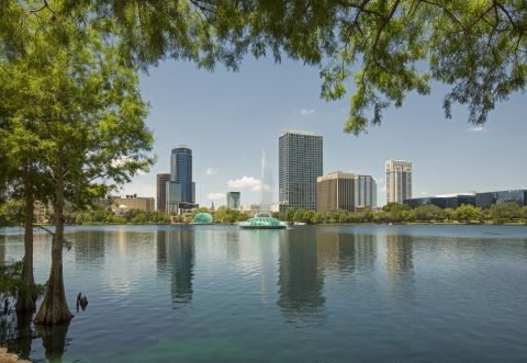 Lake Eola at Camden Orange Court Apartments in Orlando, FL