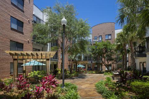BBQ Grills at Camden Orange Court Apartments in Orlando, FL