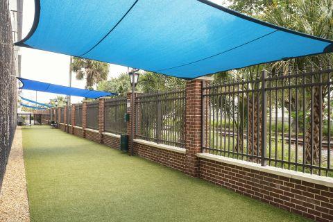 Dog Park at Camden Orange Court Apartments in Orlando, FL