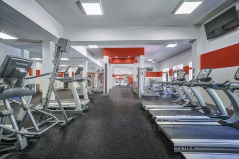 Fitness Center at Camden Overlook Apartments in Raleigh, NC