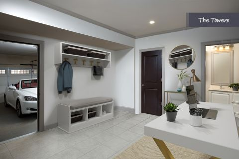 Flex Space at the Townhomes at Camden Paces Apartments in Atlanta, GA