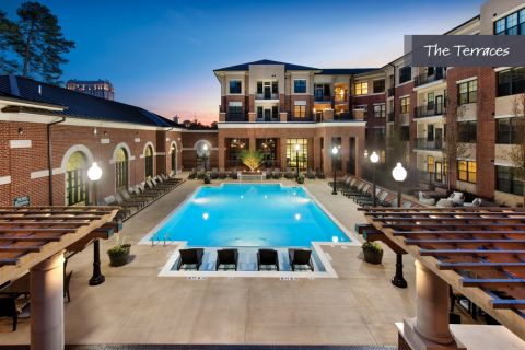 Swimming Pool at The Terraces at Camden Paces Apartments in Atlanta, GA